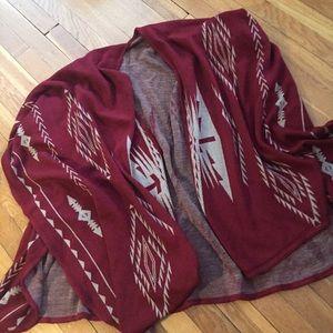 Jackets & Blazers - Poncho/Shawl